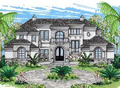 Plan W31807DN: Living in Grandeur