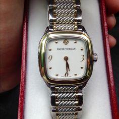 david yurman watch with diamonds d bracelets and jewelry