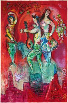 Marc Chagall 1887-1985 | Cubist, Symbolist, Fauve and Surrealist painter | Tutt'Art@