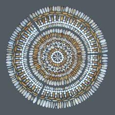 Pebble Mosaic created by Olicana
