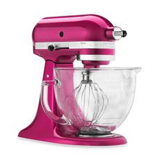 I'd actually bake goodies if I had a PINK stand mixer. :)