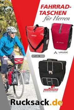 Finde Deine richtige #Fahrradtasche! Für längere Radtouren oder auf dem Weg zur Arbeit. Unsere Fahrradtaschen bieten für jeden Anspruch die passende Lösung.