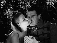 John Gilbert and Greta Garbo in 'Flesh and the Devil' (1927). They started a long romance in and off screen.