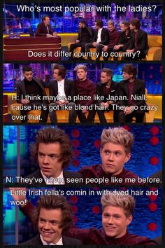 One Direction on The Jonathan Ross Show // One of their best interviews to date.