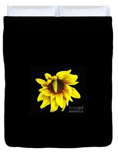 Droops #Sunflower With Oil Painting Effect by Rose Santuci-Sofranko  #flowers #duvets #iphonecases #art #sale #prints #pillows #photography #cards