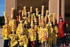 CARNAVAL 2014 - Dolors Iborra - Álbumes web de Picasa. Girafes 3r.