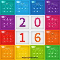Images calendar 2016 vector free download page 7