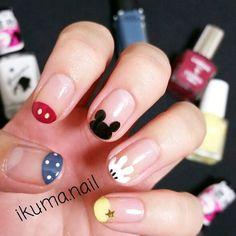 #disney #mickey #nails #nailart