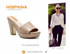 La #moda y la comodidad no tienen que estár peleados, mira Hispana y enamórate de un calzado cómodo y hermoso.