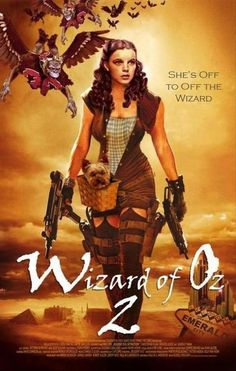 If they made a wizard of oz zombie movie the poster would look something like this... I would watch it