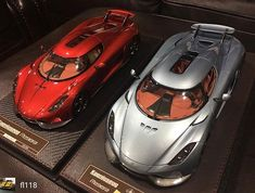 Reposted from - Sealed and open/closed Frontiart Regera - Drag Racing Videos, Diecast Models, Car Ins, Vehicles, Ali, Geek, Instagram, Cars, Car