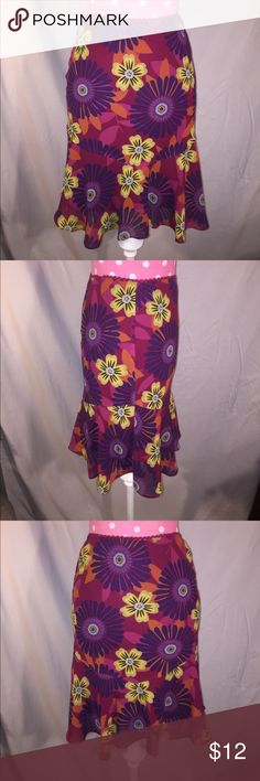 Betsy & Babs Sz Y16 lined floral print skirt Excellent condition, like new 🌷 stretchy waist could fit an XS adult perhaps a Sm 😀 inquire for measurements if interested.  BUNDLE & SAVE ❤️ Betsy & Babs Bottoms Skirts