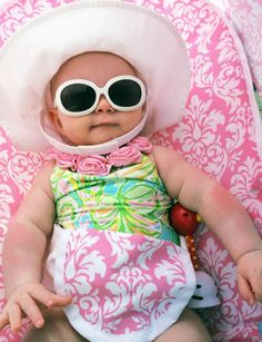 Lilly Pulitzer Infant Swimsuit in Elephant Ears