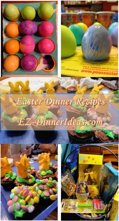 Easter dinner recipes - regardless the weather or your tight schedule on Easter, there are always plenty of options for making a great meal and family time.