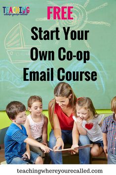 Learn the step by step process for starting your own co-op with this FREE email course