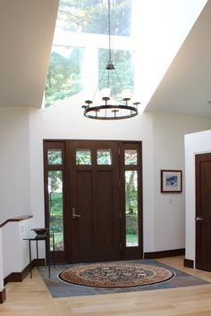 New Entrance Area Featuring Doors By Rockwood Door U0026 Millwork