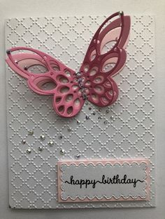 The 49 best j2 designs handmade cards images on pinterest j2 designs easy diy layered butterfly as focal point birthday card simple and elegant using affordable supplies and tools malvernweather Images