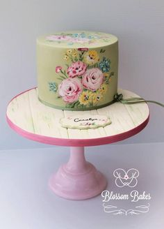 Carolyn's Cake  by BlossomBakes
