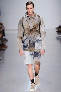 Christopher Raeburn Spring 2014 Menswear #print #textural