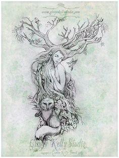 Tattoo design for Angelique by GingerKellyStudio