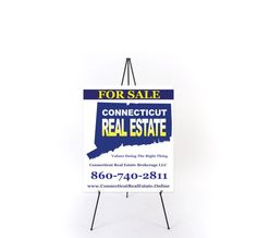 x Foam board Connecticut Real Estate, Real Estate Values, Online Printing Services, Signage, Business Cards, Prints, Board, Lipsense Business Cards, Billboard