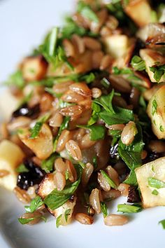 Roasted Root Vegetable & Wheat Berry Salad recipe