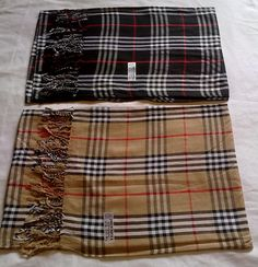 Black Burberry Scarf R 120 including delivery anywhere in South Africa