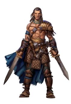 Tagged with art, inspiration, dnd, pathfinder, character design; DnD Class inspiration dump: Barbarians and wild men Fantasy Male, Fantasy Warrior, Fantasy Rpg, Medieval Fantasy, Fantasy Dragon, Pathfinder Character, Pathfinder Rpg, Fantasy Portraits, Character Portraits