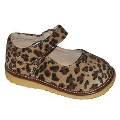 Leopard Mary Jane Shoes