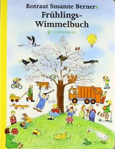 [Frühlings-Wimmelbuch] Rotraut Susanne Berners   ab 2   Pasing Wimmelbilderbuch b/BER