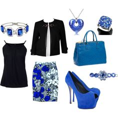 Black and Blue, created by tracy-wood.polyvore.com