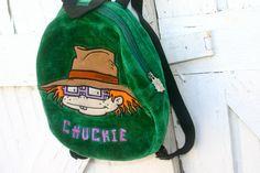 vintage 90's #nickelodeon #nicktoons #rugrats club kid backpack by toasterhenry, $32.00