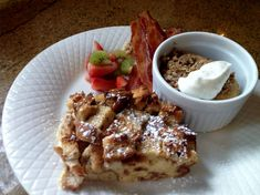 Cinnamon French Toast Casserole    #breakfast #frenchtoast #bedandbreakfast #bnb Breakfast Pictures, Cinnamon French Toast, French Toast Casserole, Waffles, Food, Meals, Waffle, Yemek, Eten