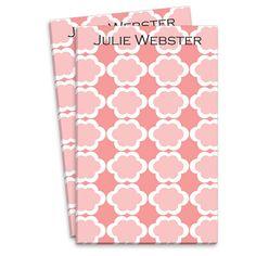 Pink Tiles Notepads