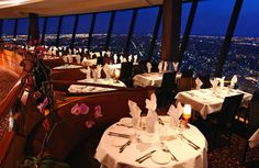 My first long distance drive right after I got my license was to Toronto. I had one thee most amazing dining experience at the top of the CN Tower.