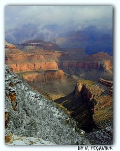 Grand Canyon South Rim, Arizona, by npecanhuk