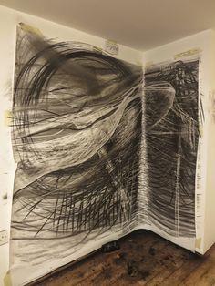 Corner drawing. Naomi Kendrick