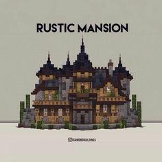 Minecraft Cottage, Cute Minecraft Houses, Minecraft Mansion, Minecraft Castle, Minecraft Plans, Minecraft Room, Amazing Minecraft, Minecraft House Designs, Minecraft Survival