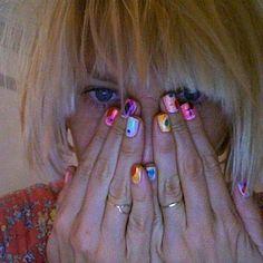 Sia #nails #siaisbeautiful