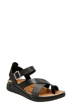 Clarks® 'Tri Ariana' Wedge Sandal (Women)