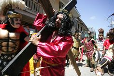Morions roam the streets of Marinduque during Holy Week, where they participate in different events, even scaring kids with their masks and costumes Moriones Festival, Holy Week, Holi, Philippines, Masks, Events, Costumes, History, Kids