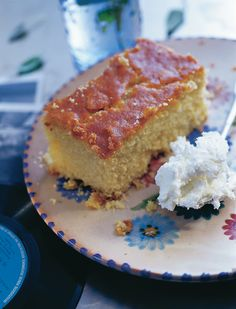 Cypriot dessert on Pinterest | Rose Water, Desserts and Coconut Cakes