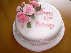 Best 80th Birthday Cake Ideas with Photos | Various Cake Photos