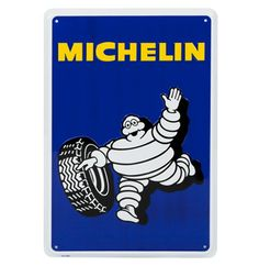Vintage Metal Michelin Man sign http://www.bdasites.com/Michelin/Store/Product/Sku/MCHC301457-00