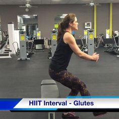 Feel the BURN! Try this HIIT interval next time you're in the gym. CLICK image for video.   #HIIT #interval #fitness