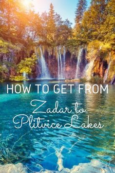 How to get from Zadar to Plitvice Lakes is a common question. Luckily, getting from Zadar to Plitvice Lakes National Park is easy in Croatia National Park, Plitvice Lakes National Park, Travel Couple, Family Travel, Croatia Travel Guide, Visit Croatia, Hotels, Seen, Roadtrip