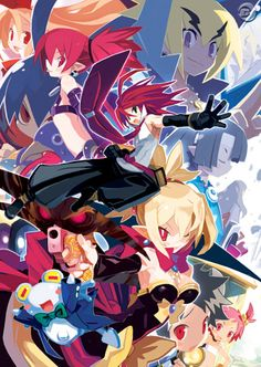 Disgaea 2 - The second installment in the series. Adell is the only person unaffected by an evil curse that transformed everyone in his home village into heartless demons, the caster being Overlord Zenon, known to be the God of All Overlords. Adell has a simple solution to the problem: get his mom to summon Zenon and pummel him to  submission. It doesn't go as planned and Rozalin, Zenon's daughter appears instead. Now Adell has to both return her home and defeat Zenon.