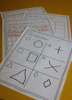 periodic assessments to show learning - all in an adorable keepsake portfolio!