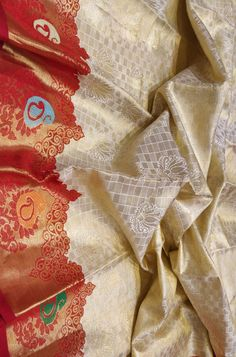 Pastel Handloom Kanjeevaram Pure Silk Saree