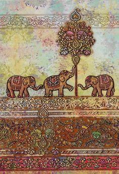 I just love elephants